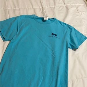 Like new blue simply southern t shirt